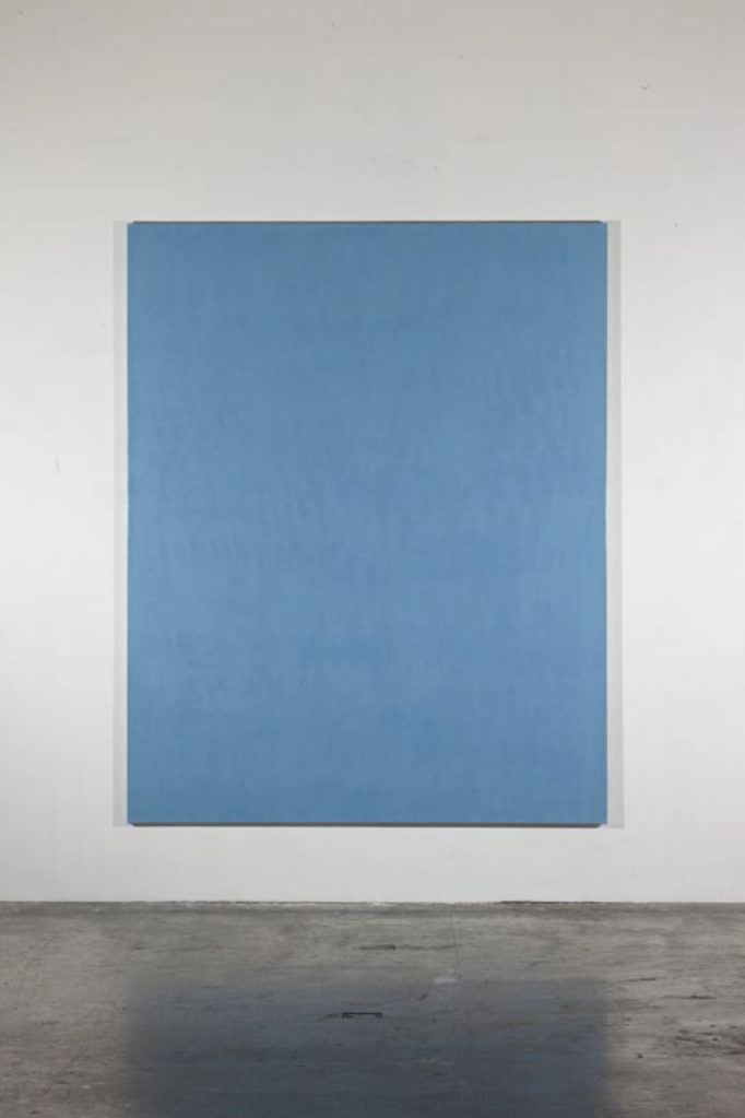 Chroma, 2002-2012 • oil and polyester resin on canvas, 250 x 200 cm