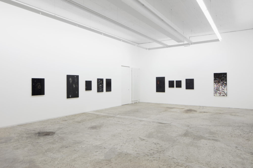Exhibition view • Günther Wizemann «Nigredo»,  2018