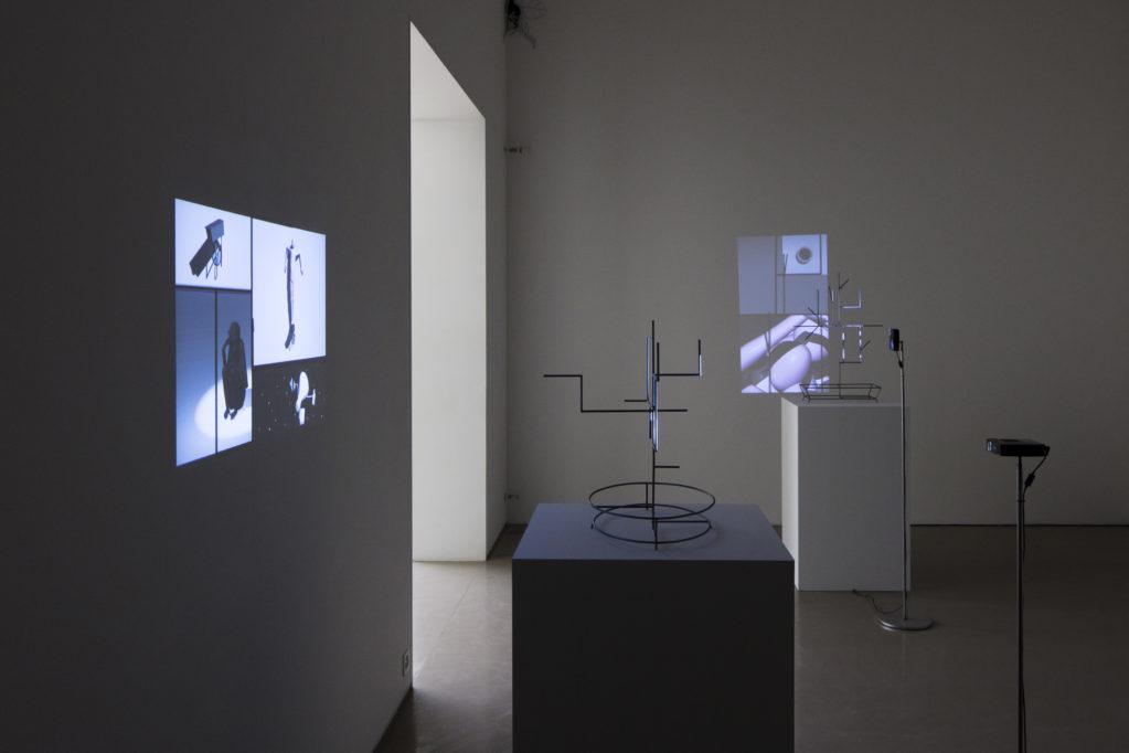 Exhibition view • Yves Netzhammer «Die Pflege der Argumente», 2018