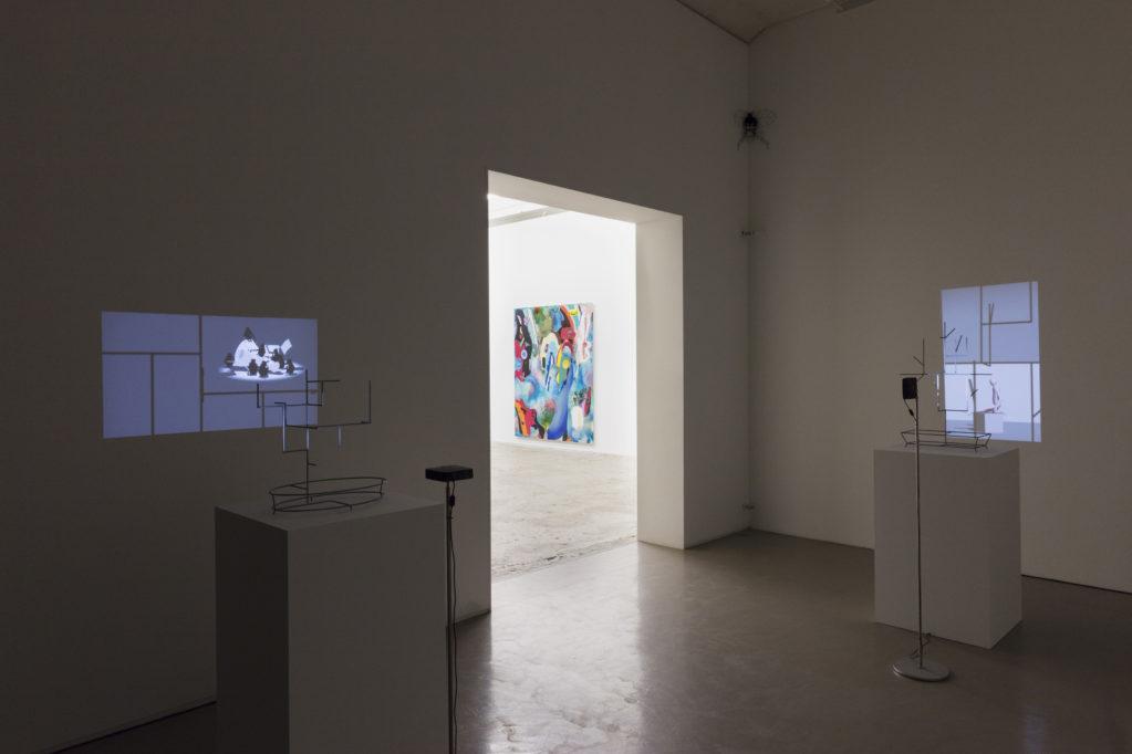 Exhibition view • Yves Netzhammer & Dave Bopp, 2018