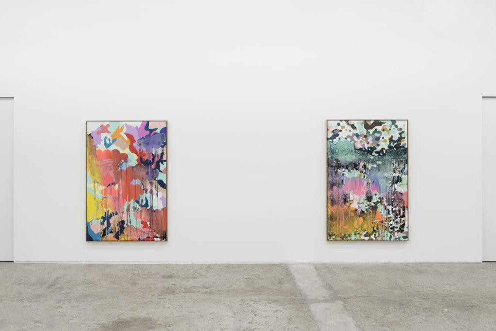 Exhibition view • Christine Streuli «smokescreen», 2018