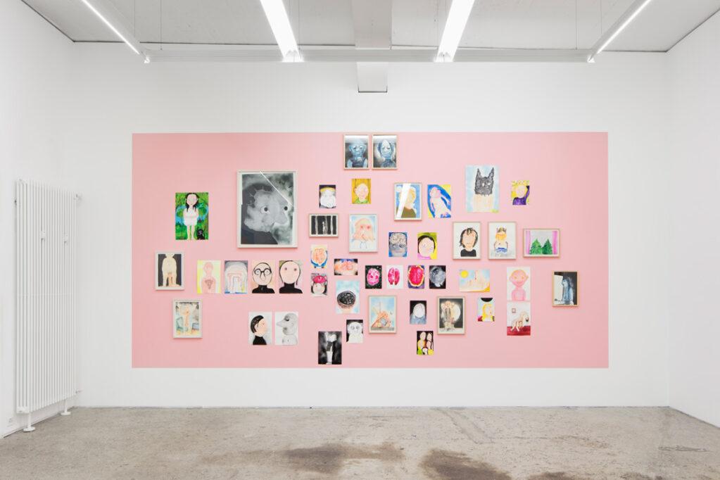 Exhibition view • Heike Kati Barath «platzt plötzlich», 2019
