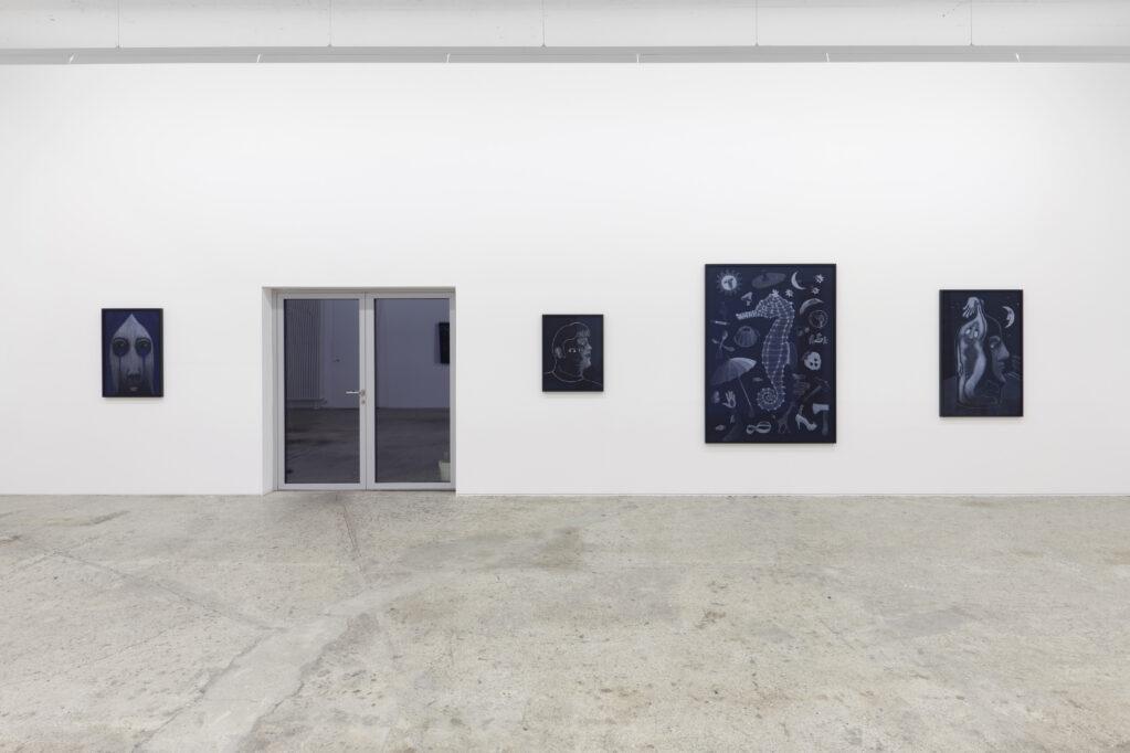 Exhibition view • «Näher beim Mond», 2020