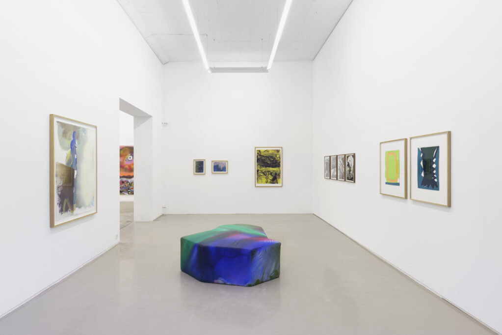 Exhibition view • «Works on paper», 2020