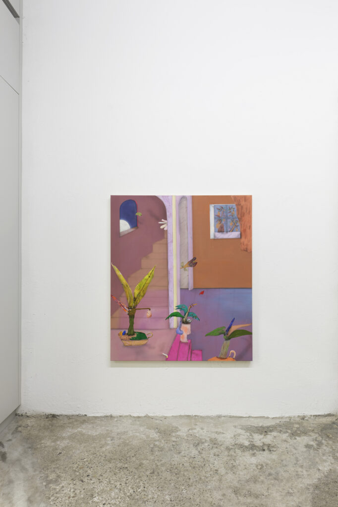 Exhibition view • «painting the night unreal», 2020