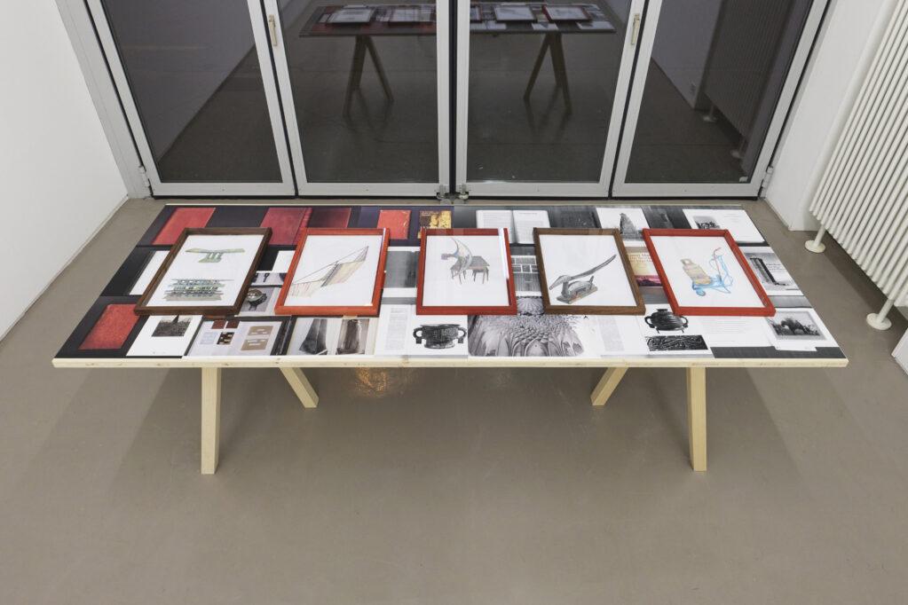 Exhibition view • «XXX die III. - correspondances», 2020