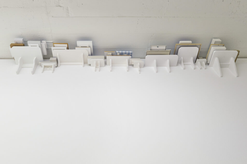 Exhibition view • Axel Lieber «Kopf und Kragen», 2021