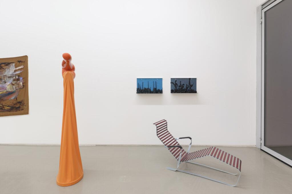 Exhibition view • «Sommervögel», 2021