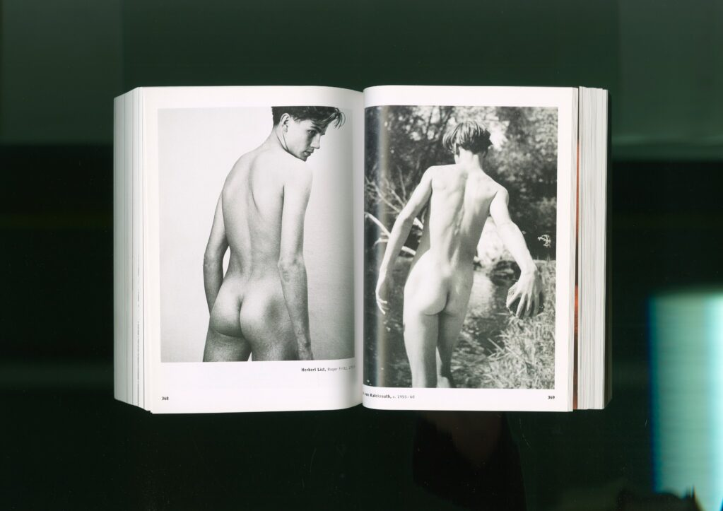 Anthology (The Male Nude) (Pages 368 + 369) • c-print, 43.5 x 61 cm